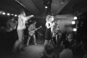 The Mutants (S.F.) live at Hurrah - NYC, 1979 [Photo: Eugene Merinov]